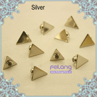 Silver Pyramid Rivet Studs Leathercraft Decorations Findings