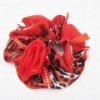 red fashion elastic hair accessories for wedding
