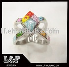 Fashion 316L stainless steel ring LF-R4075