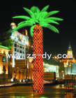 factory sales 3.00m coconut palm tree with led