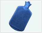 cute 3000ml bs rubber rectangle hot water bag