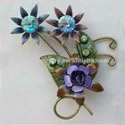 sunflower jewelry brooch pin