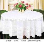 LACE TABLE CLOTH ZT-805 RD150CM