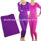 polyester thermal underwear long johns for wemen