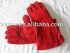Cowhide Split Leather Welding Gloves
