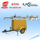 Mobile generator lighting tower