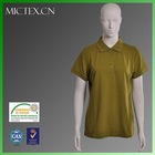 women us polo shirt cotton polyester short sleeves pique OEM (OEKO-TEX,ISO9001,SGS Certification)