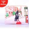 Digital printed promotional cosmetic bag