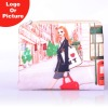 Digital printed promotional cosmetic bag