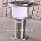 Solar bollard,best price offered,one-year warranty for the full set