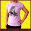 100% cotton short sleeve custom t shirt