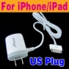 wholesale US Plug Mobile Phone Charger For iPhone Ipod O-781