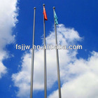 21m Electric-operated tapered flagpole