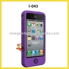 Fashion Protetive Silicone Cover For Iiiphone4G