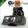 Fell HD Car DVR with Dual Camera GPS logger and G-senor DVR Car