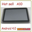 "10.1"" android 4.0 cheapest A10 resistance touch screen"
