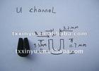 EPDM Rubber profile U channel for window seal