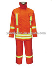 orange bunker suit for firemen EN-469