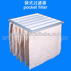 F5 Aluminun frame pocket filter for spray booth (Manufactory)