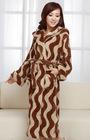 ladies terry towelling heavy bathrobe