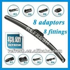 Synthetic multi-material flat wiper blade (HY-08)