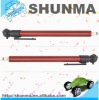 SMT1196 Economy Pencil Type, tire guage, plastic black head, painted metal tube, 10-50psi or 10-100psi