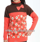 korean princess style strawberry printing sweater