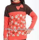 korean princess style strawberry printing sweater
