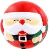 santa claus stress ball,Christmas gift
