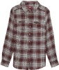 cotton checked fabric western /casual shirt for women