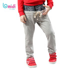 branded kid wear thicken 100% cotton sport casual pants/trousers