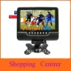 1pcs per lot/7.5 inch TFT LCD color Analog TV with wide view angle, Support SD/MMC Card, USB Flash disk/free shipping+wholesale
