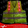 2013 new design LED reflective safety clothing for roadway worker