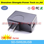 12v 400ma us plug mobile charger with high frequency 50/60Hz