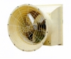 horn-type exhaust fan