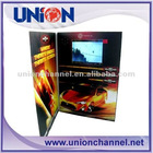 2012 Gifts, digital greeting card,video greeting card, adverting greeting card, TFT screen video player card