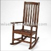 (WG-C1035) Wooden rocking chair