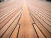 Teak decking with Sika
