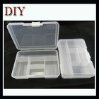 Plastic box for glass beads and rhinestone diy nail and making
