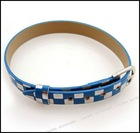 Hot Selling Leather Wristband With Buckle 190064