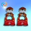 promotion cartoon fridge magnet bottle opener