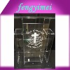 Clear perspex rostrum/plexiglass lectern/lucite platform/acrylic church podium