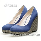 2012 lady wedges fashion high heels shoes
