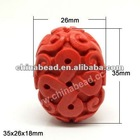 Cinnabar Red Beads Chinese Cinnabar Beads