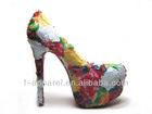 hollow flower ladies fashion footwear 2013