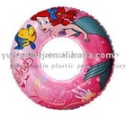2011 good sell inflatable swim ring pvc for kids