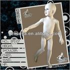 Child size mannequins