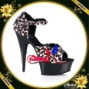 animal printed sexy shoes/shoes women