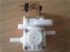 Pressure reducing constant current solenoid valve
