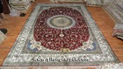 Big Size Hand Knotted Pure Silk Persian Carpets